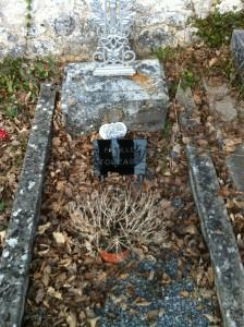 La tombe de la famille Touzard
